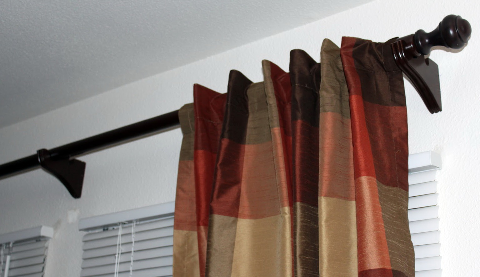 Wood Curtain Rod End Caps Home Design Ideas