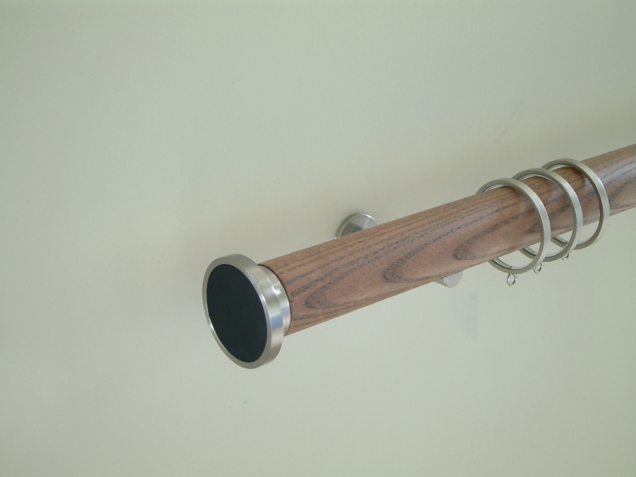 Wood Finials For Curtain Rods