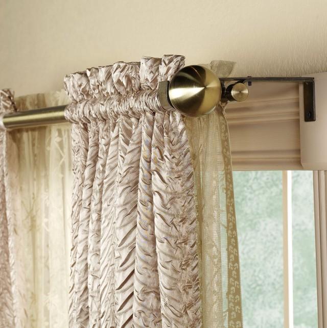 Wrap Around Curtain Rod Home Depot Home Design Ideas