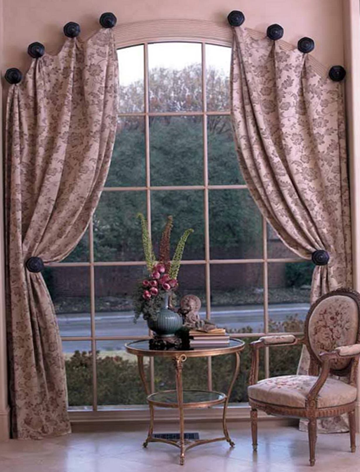 Arch Window Curtains Pictures