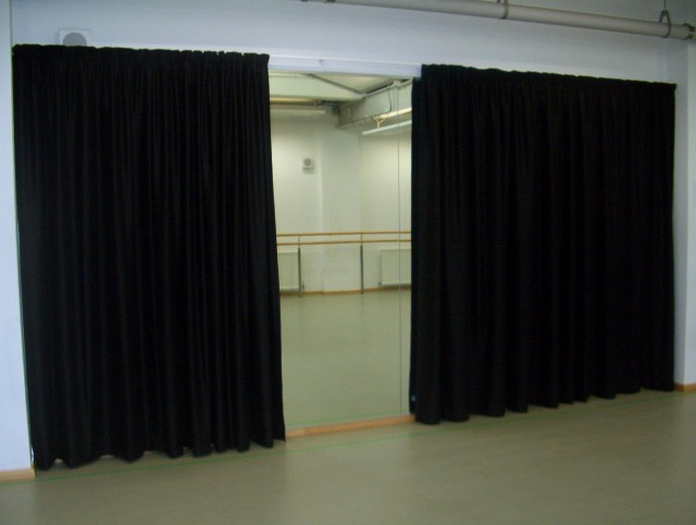 Black Blackout Curtains Bedroom