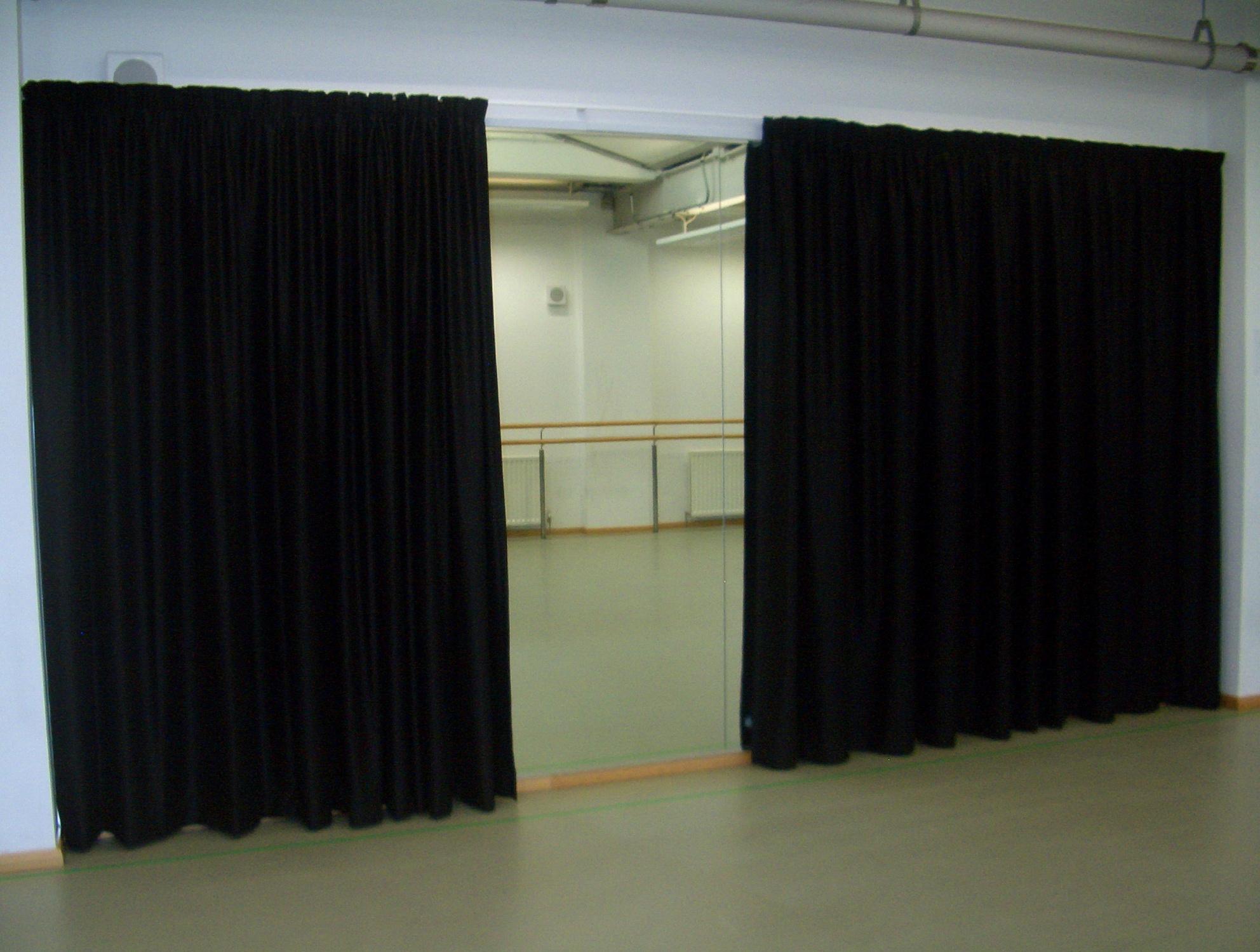 Black Blackout Curtains Bedroom