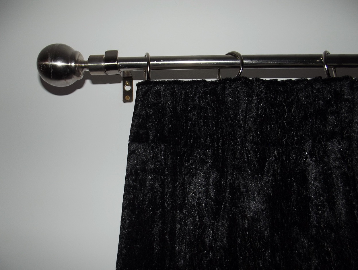 Black Blackout Curtains Uk