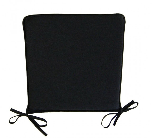 Black Chair Cushions With Ties