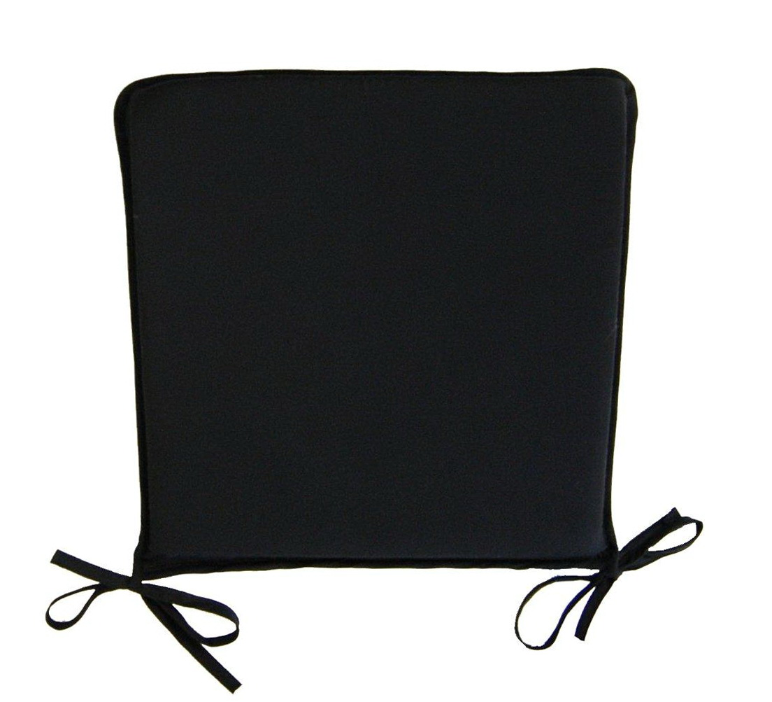 Black Chair Cushions With Ties Home Design Ideas