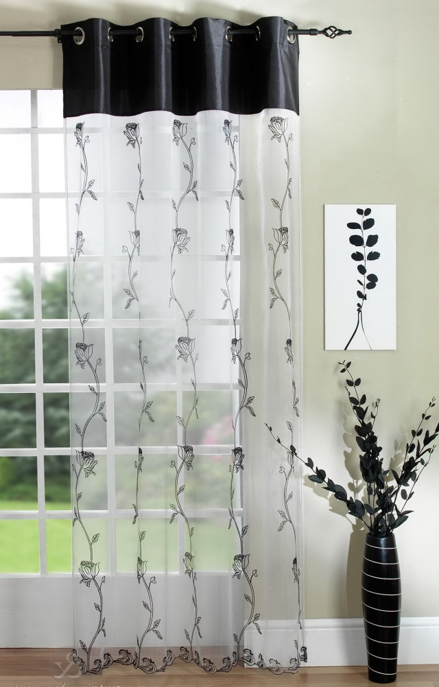 Black White Curtains Uk