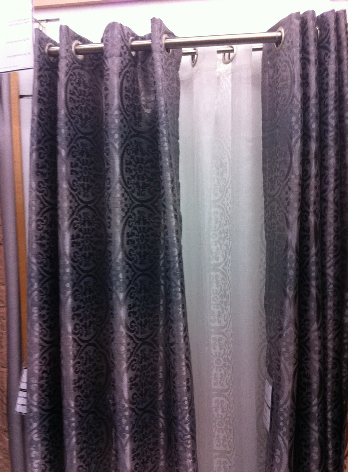 Blackout Curtain Liners Bed Bath And Beyond Home Design Ideas