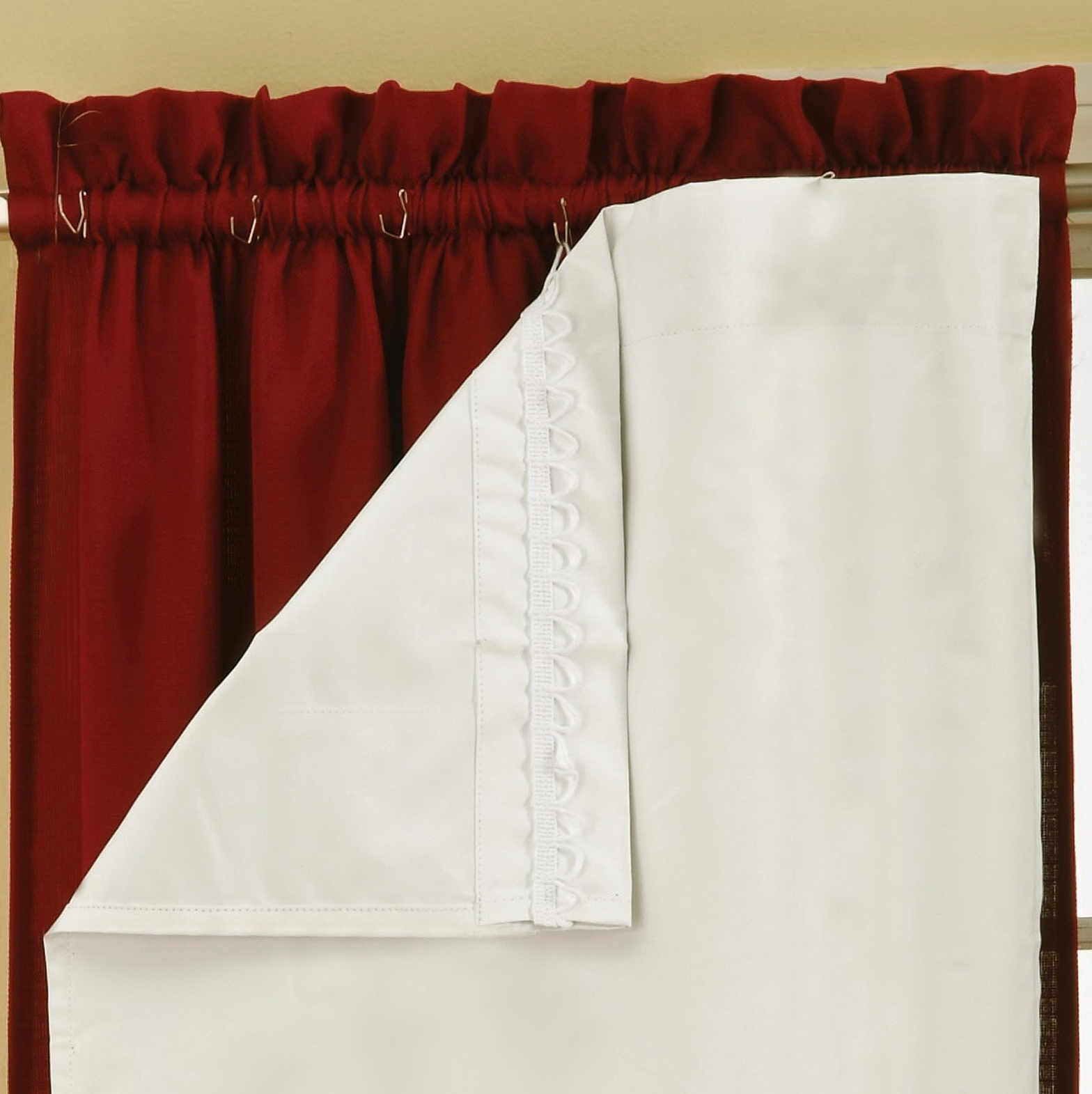 Blackout Curtain Liners Home Depot Home Design Ideas