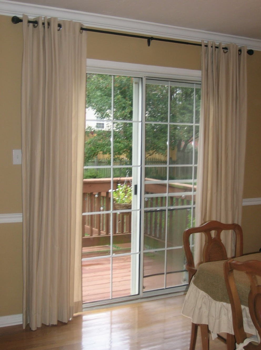 Blinds Or Curtains For Sliding Glass Doors Home Design Ideas