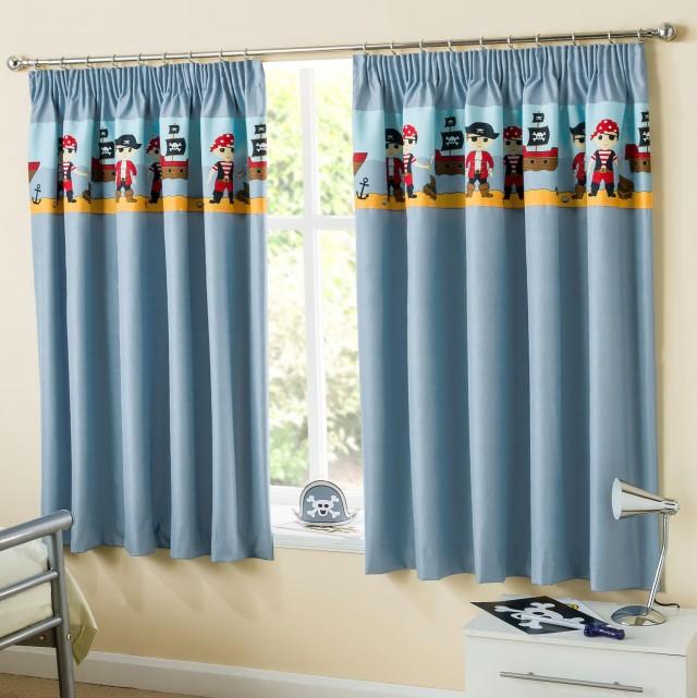 Blue Blackout Curtains Uk