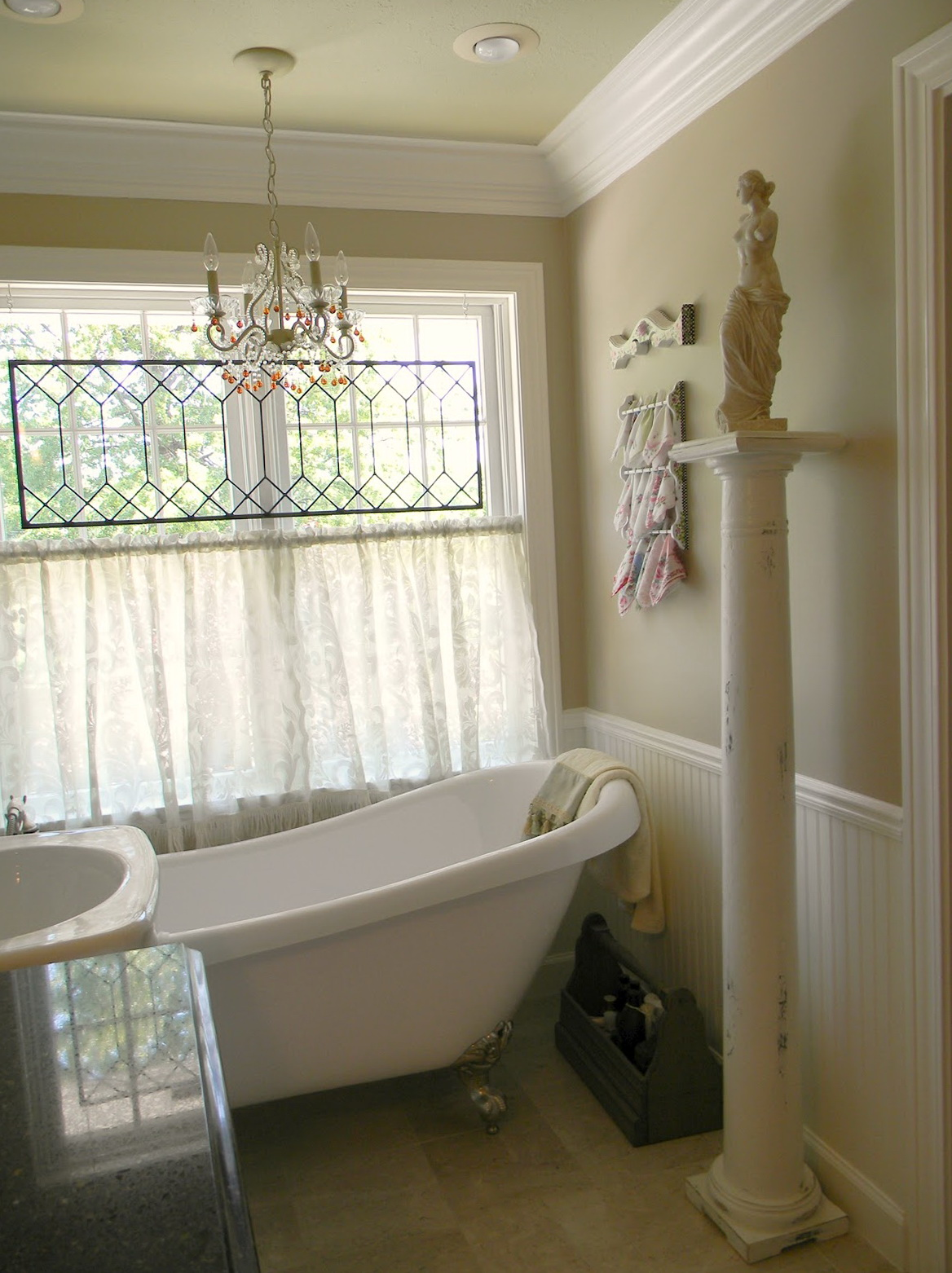 Cafe Curtains For Bathroom Window