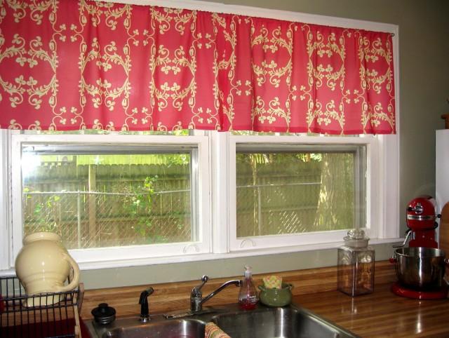 Cafe Latte Kitchen Curtains