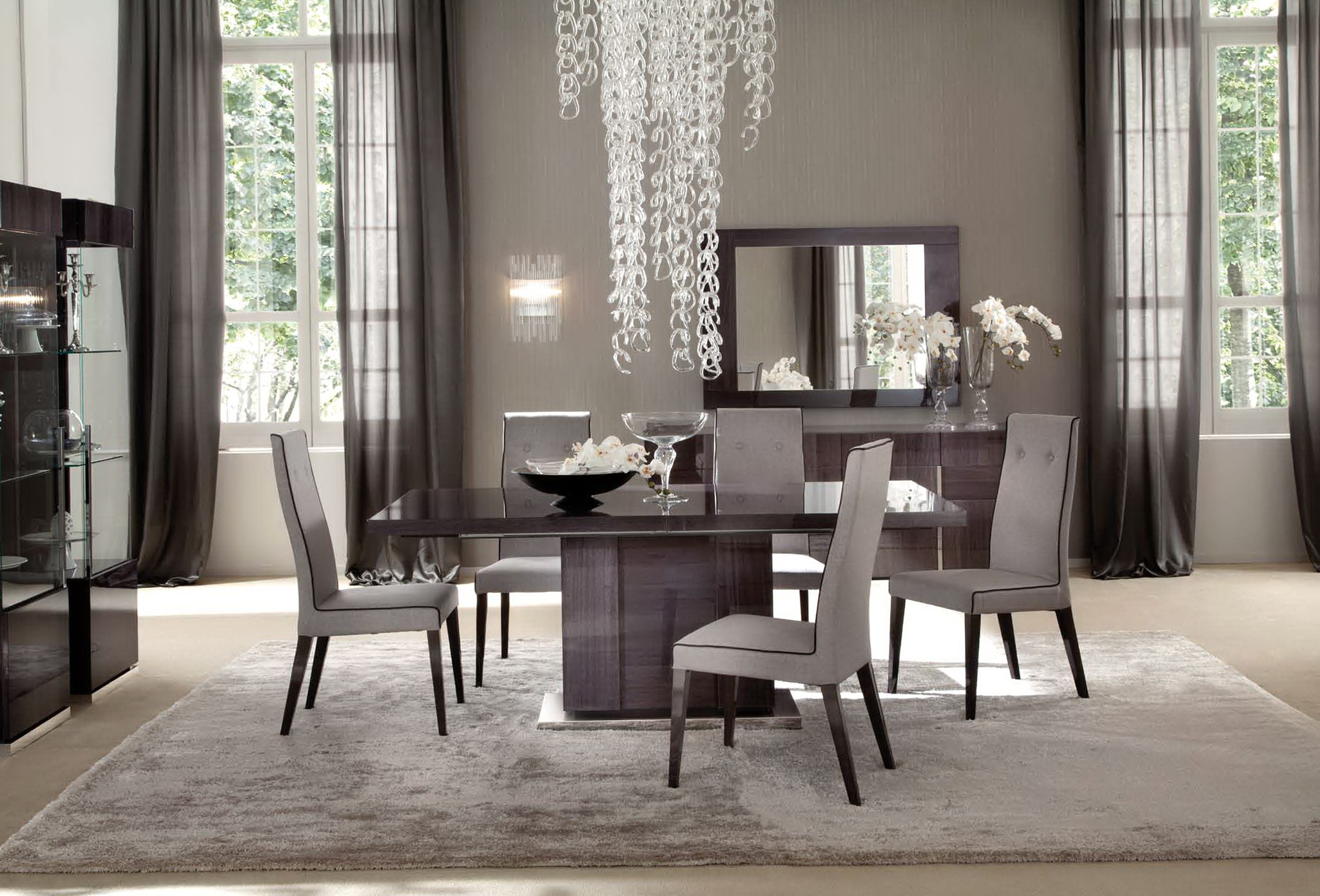 Casual Dining Room Curtain Ideas