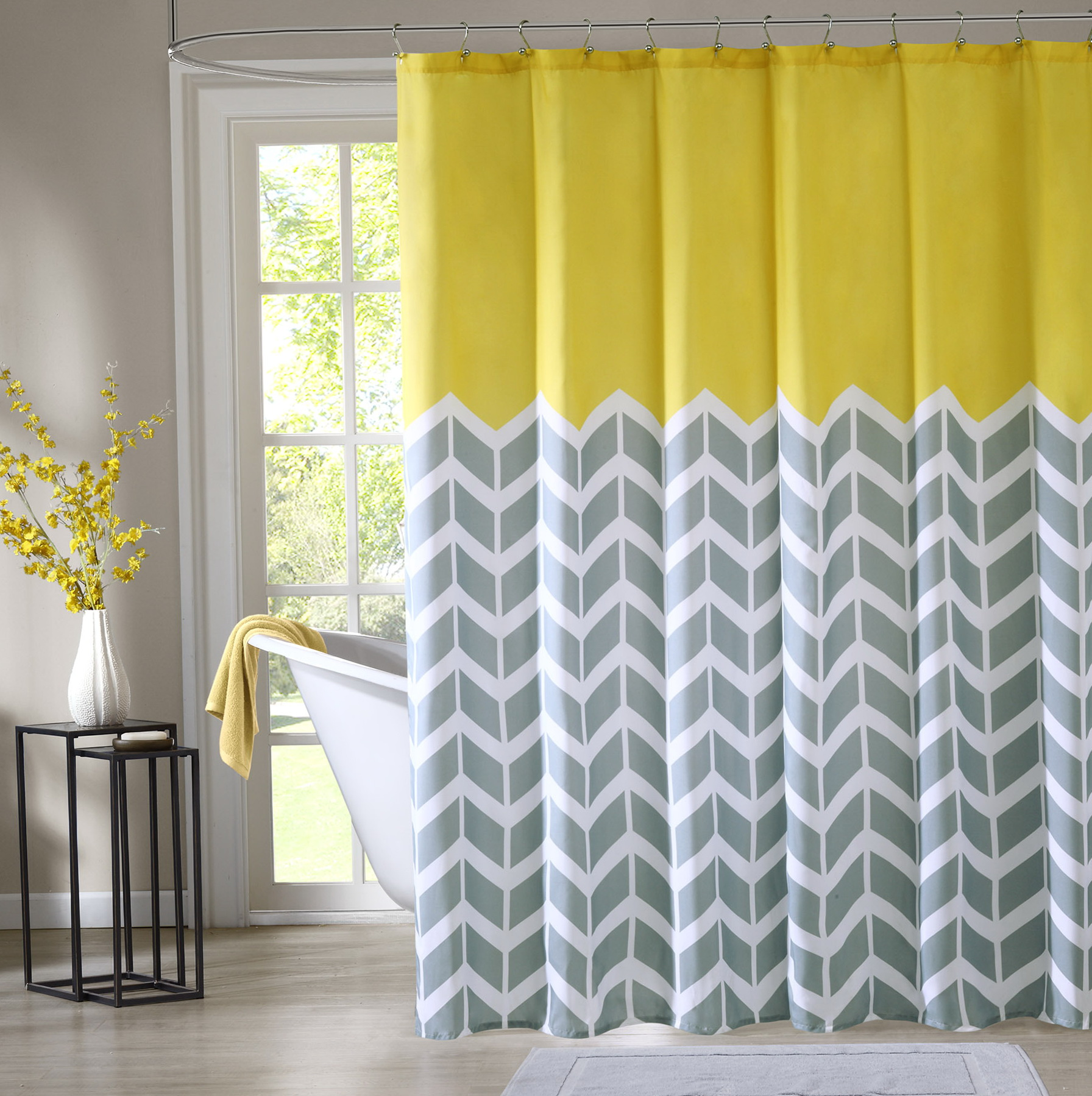28 cheap bathroom shower curtain sets coffee tables for Cheap bathroom sets