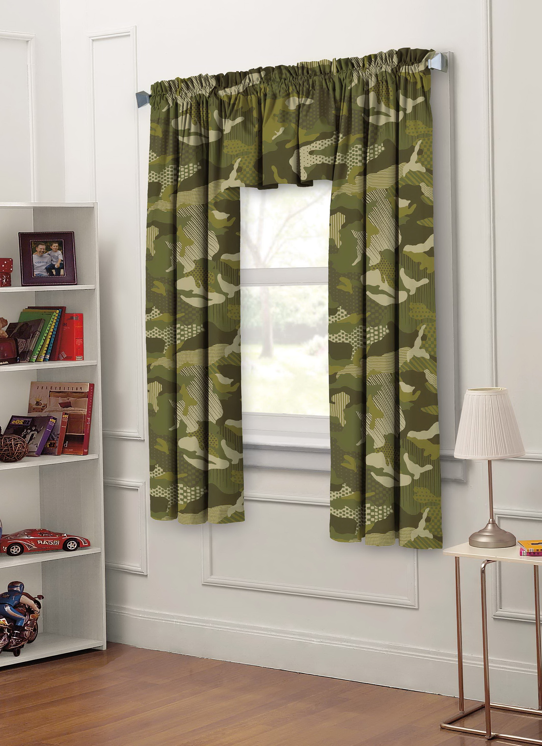 Childrens Green Blackout Curtains