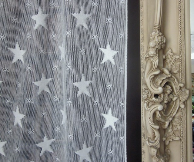 Cotton Lace Curtains By The Yard