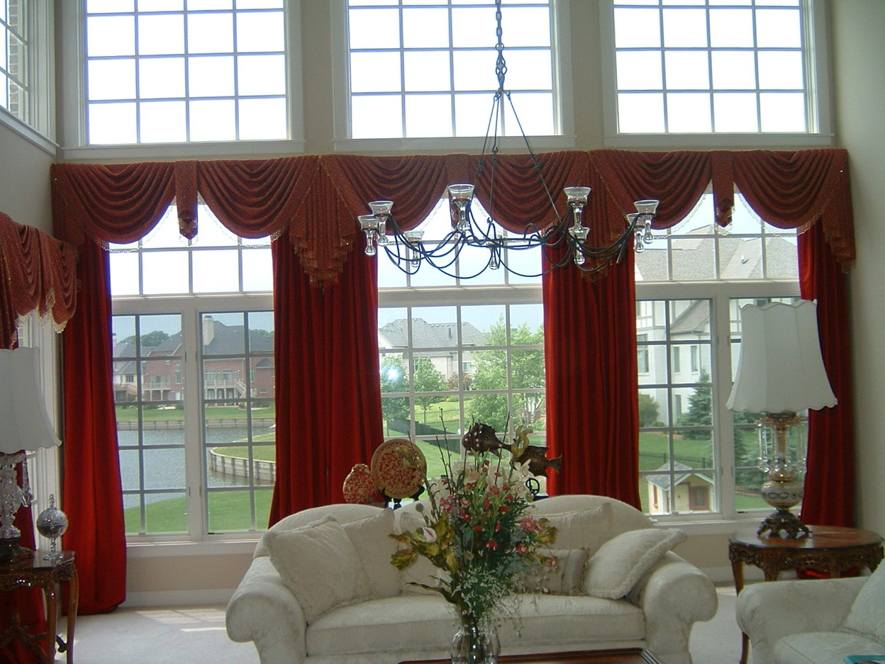 Curtain Ideas For Large Wide Windows Home Design Ideas