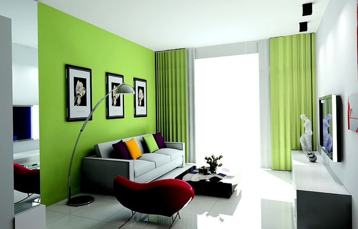 Curtains For Dark Green Walls