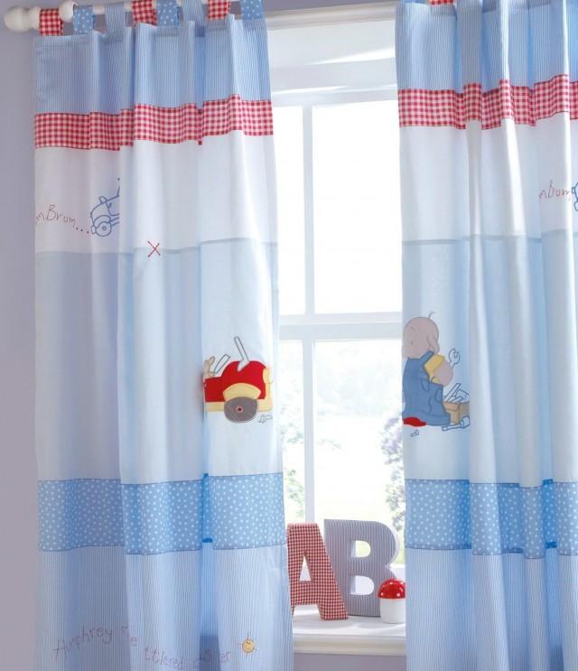 Curtains For Nursery Boy