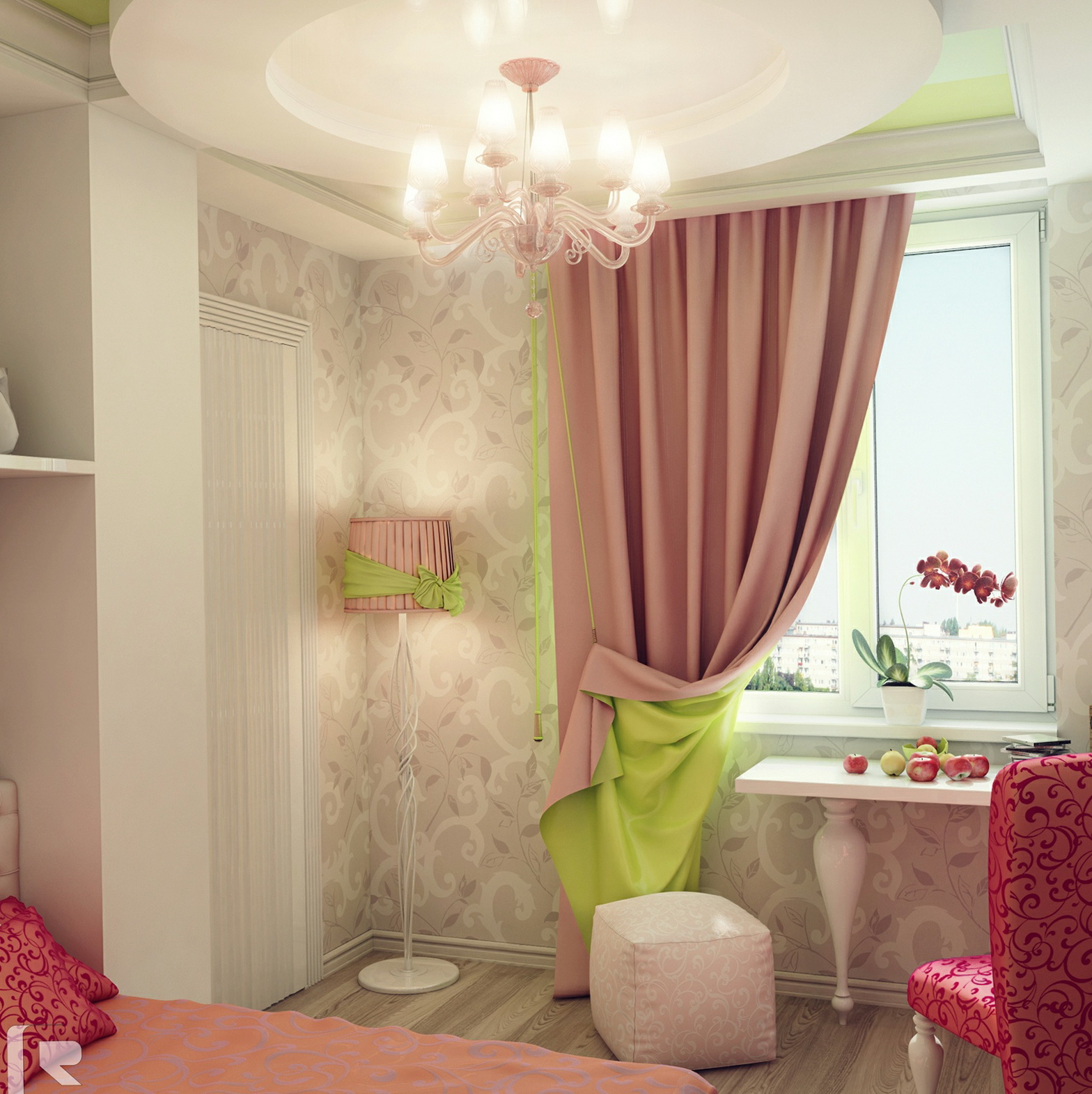 size full concept ideas pink fearsome of on for images girls curtains best curtain room pinterest
