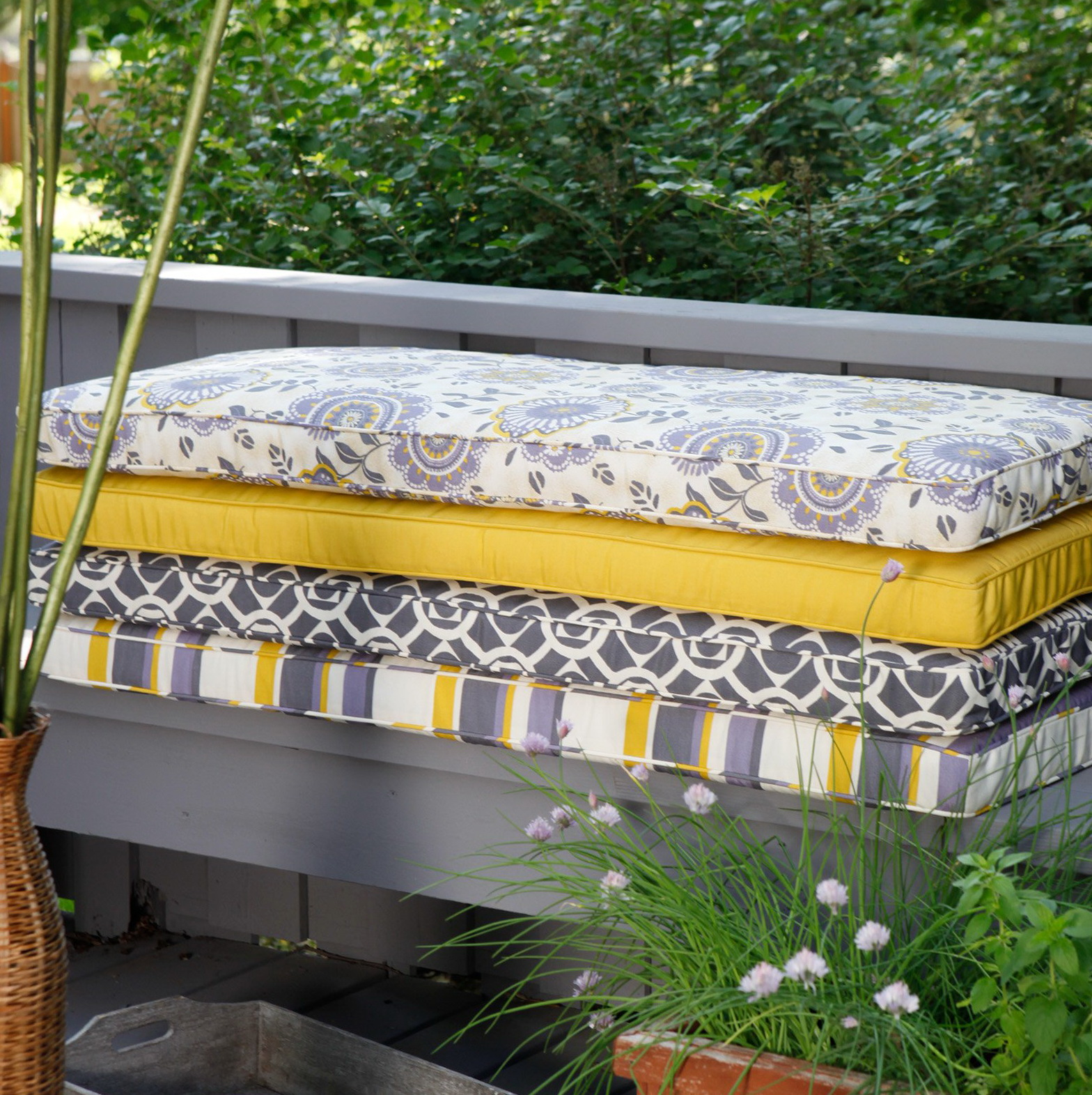 Cushions For Outdoor Benches Home Design Ideas