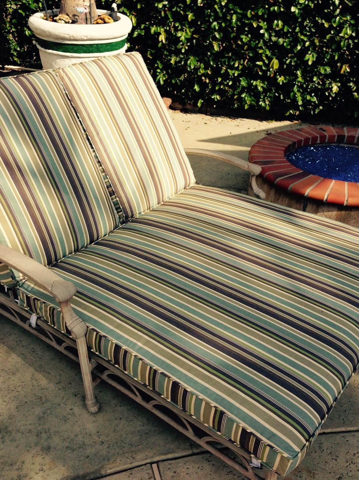 Custom Outdoor Cushions Sunbrella