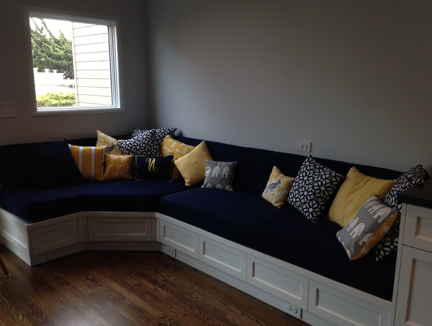 Custom Seat Cushions Indoor Home Design Ideas
