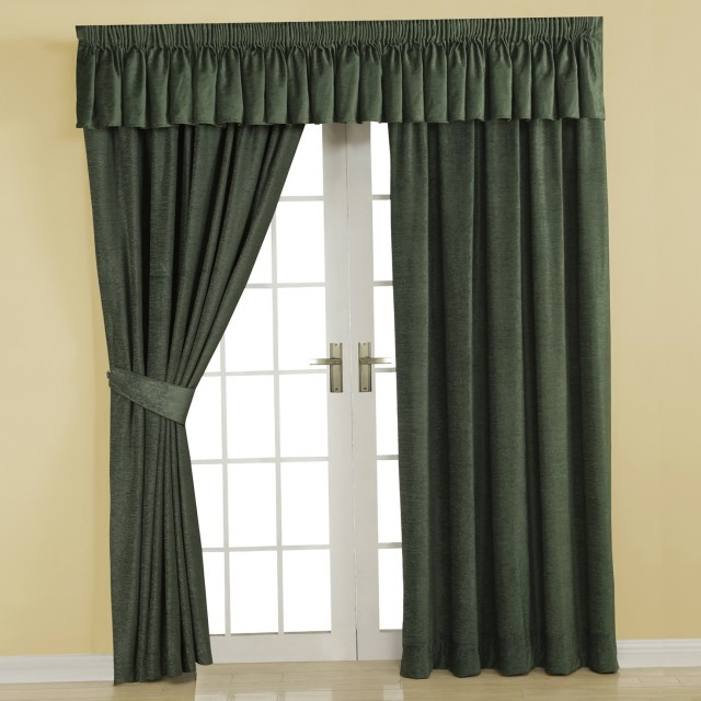 Dark Green Curtains Uk
