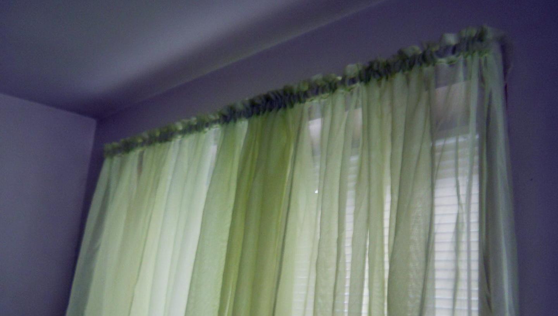 Dark Green Panel Curtains