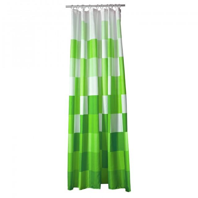 Dark Green Shower Curtains