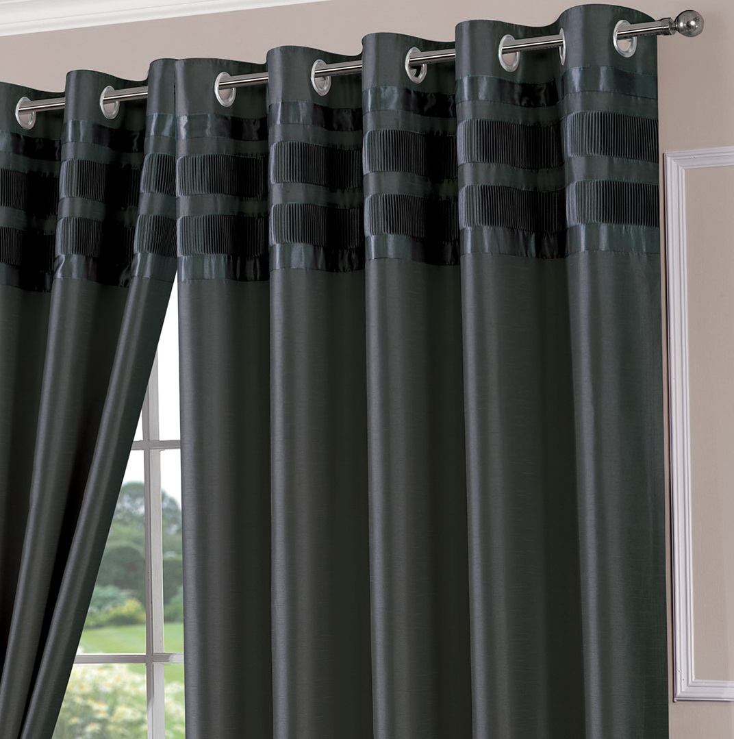 Dark Grey Curtain Panels Home Design Ideas