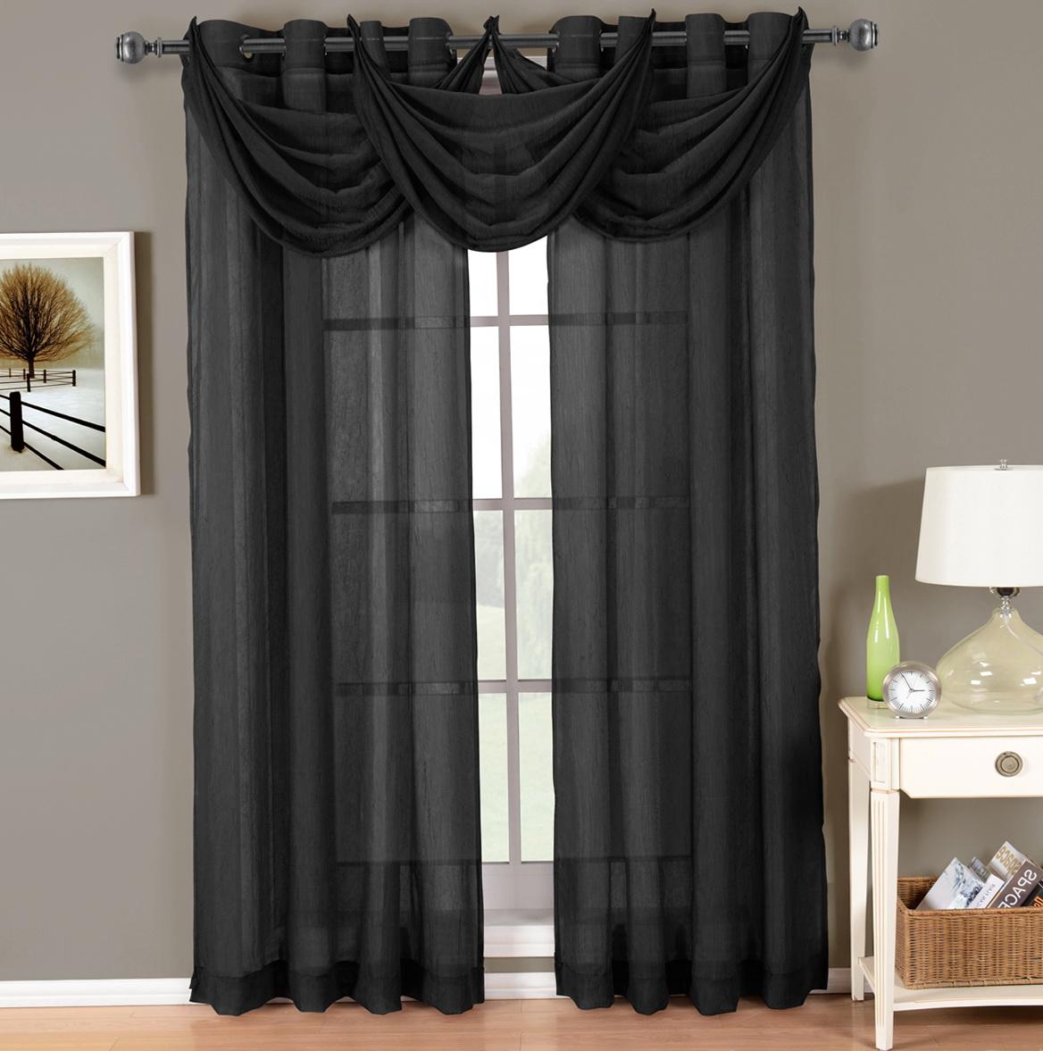 Dark Grey Sheer Curtains Home Design Ideas