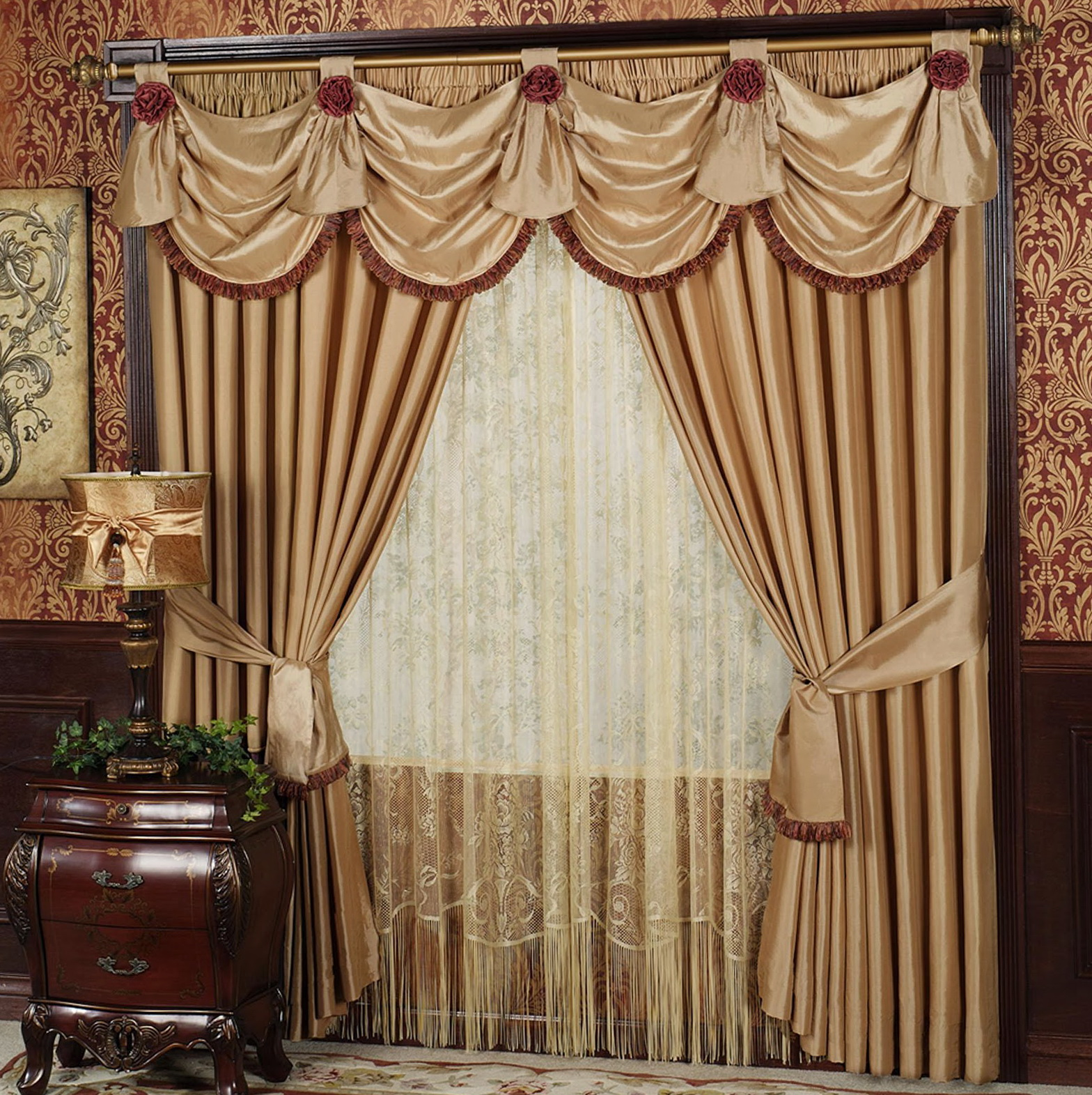 Different Types Of Curtain Rods
