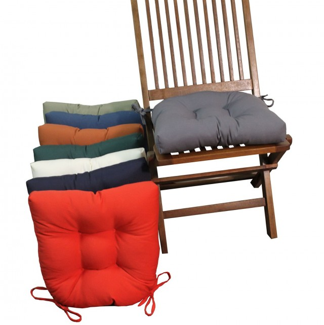 Dining Chair Cushions With Ties For Sale