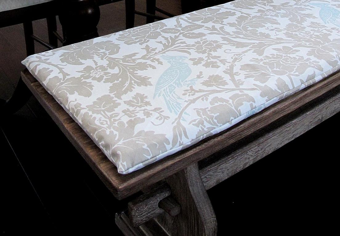 Diy Bench Cushion Cover Home Design Ideas