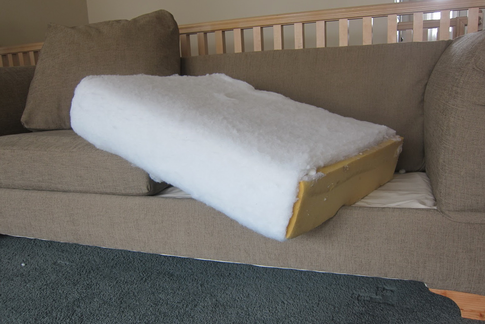 Diy Reupholster Couch Cushions Home Design Ideas