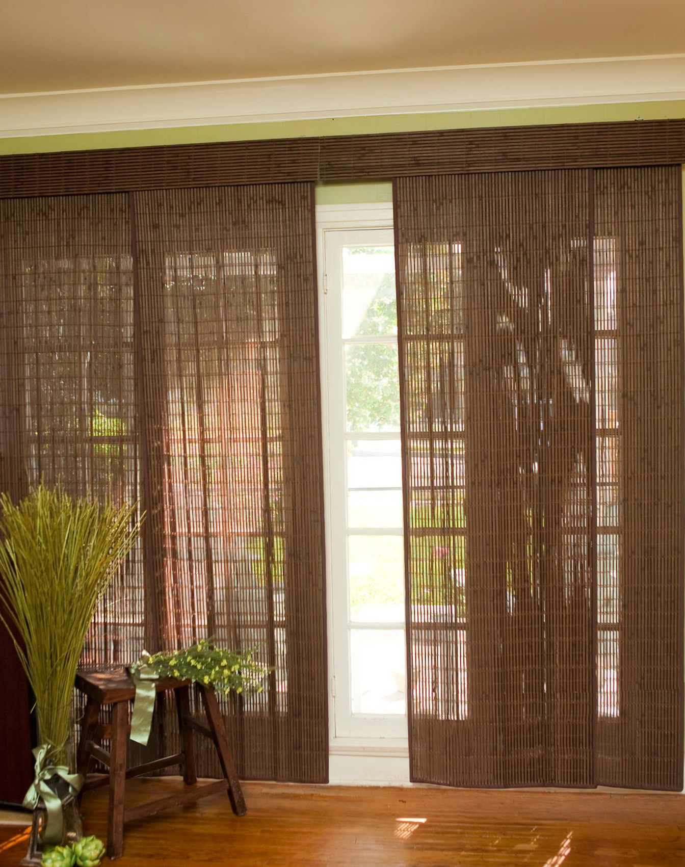 Diy Sliding Curtain Panels