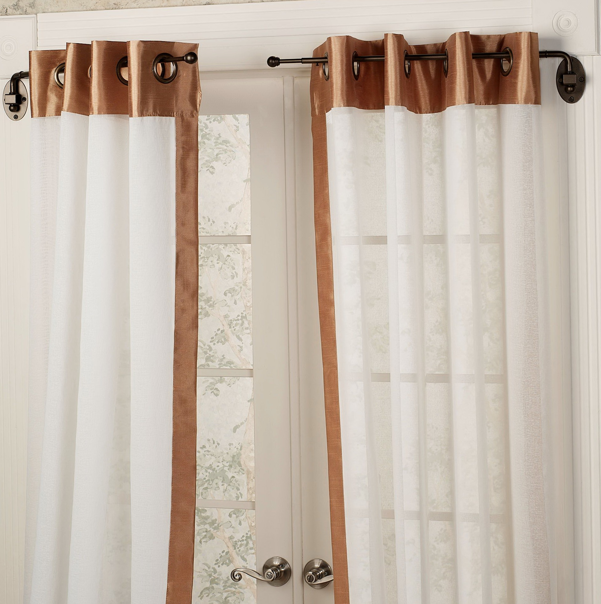 Arched Curtain Rod Ideas