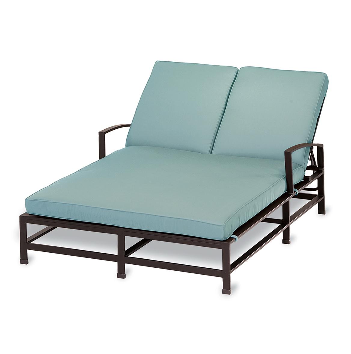 Double Chaise Lounge Cushion