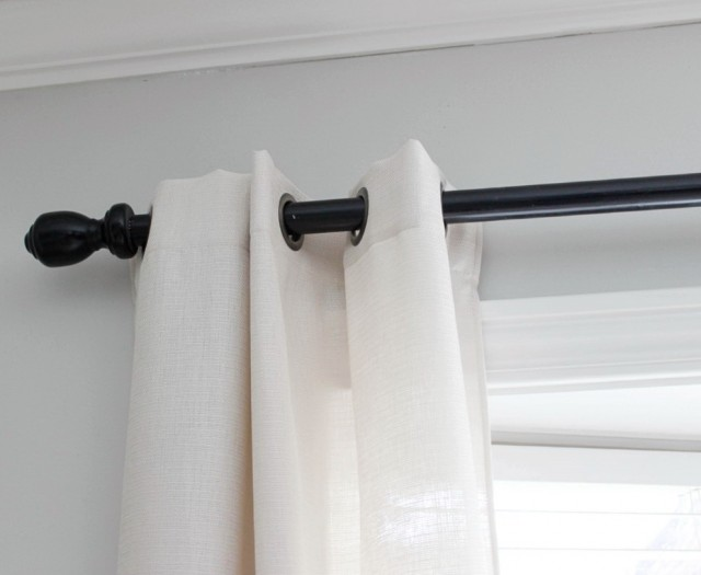 Extra Long Shower Curtain Rod Tension