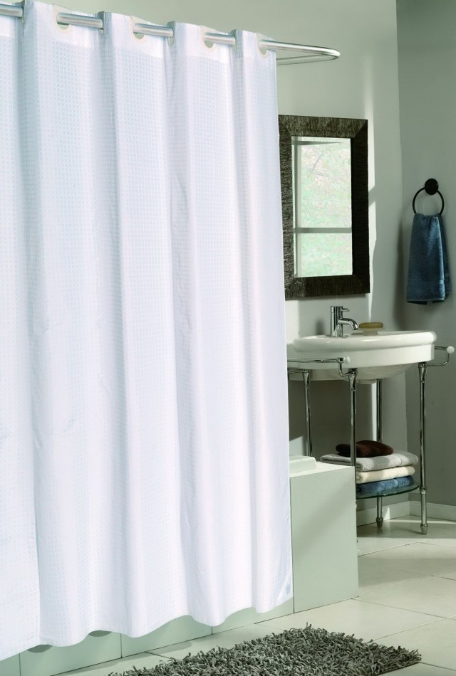 Extra Wide Shower Curtains For Clawfoot Tubs