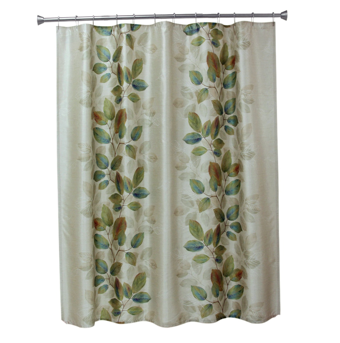 Fall shower curtains accessories home design ideas for Fall bathroom sets
