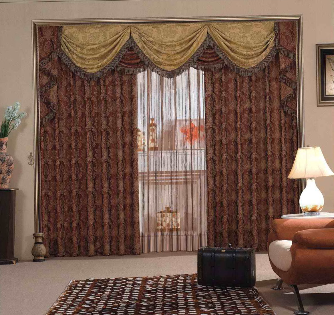 Fire Retardant Curtains For Restaurants