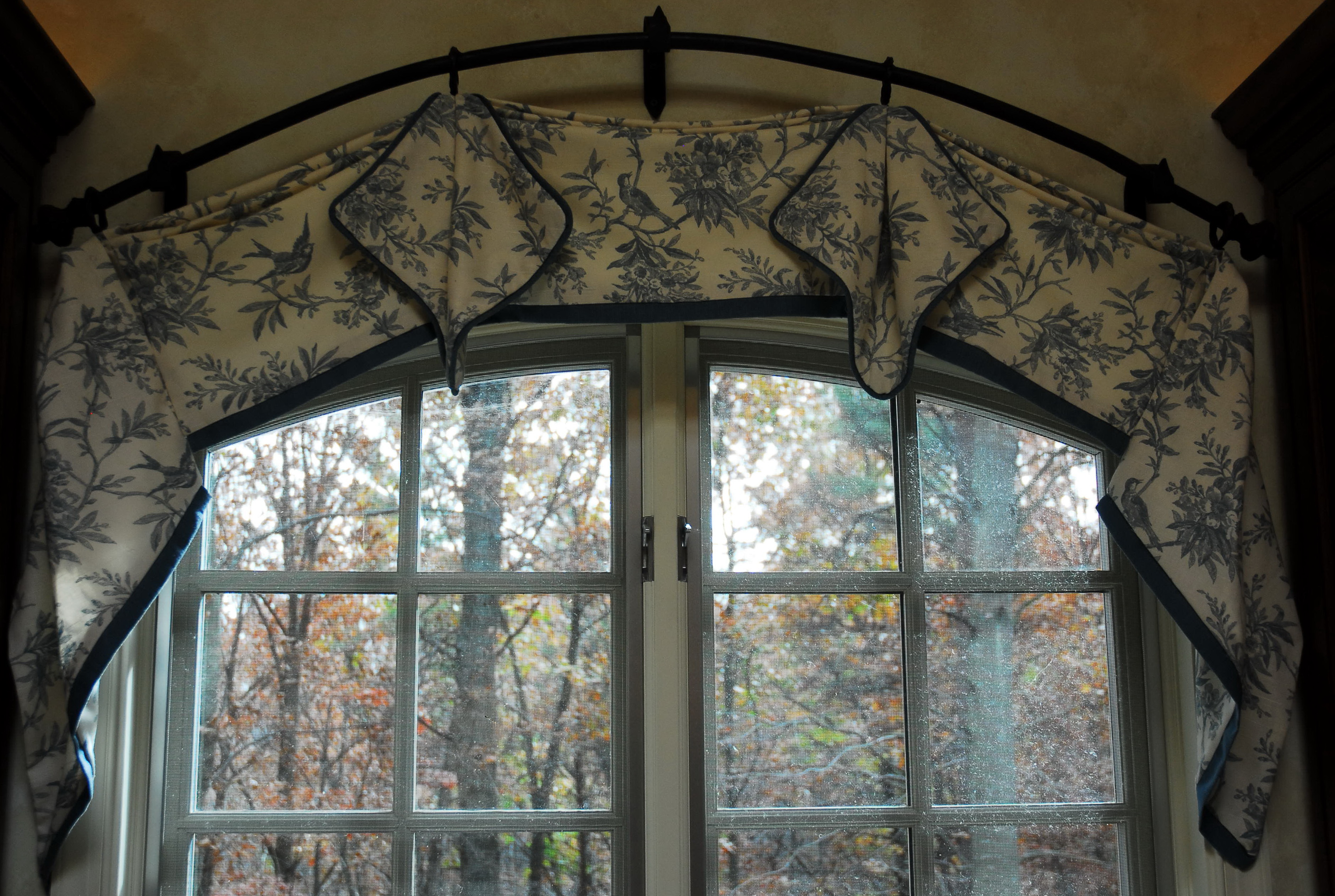 Flexible Curtain Rod For Arched Window Home Design Ideas
