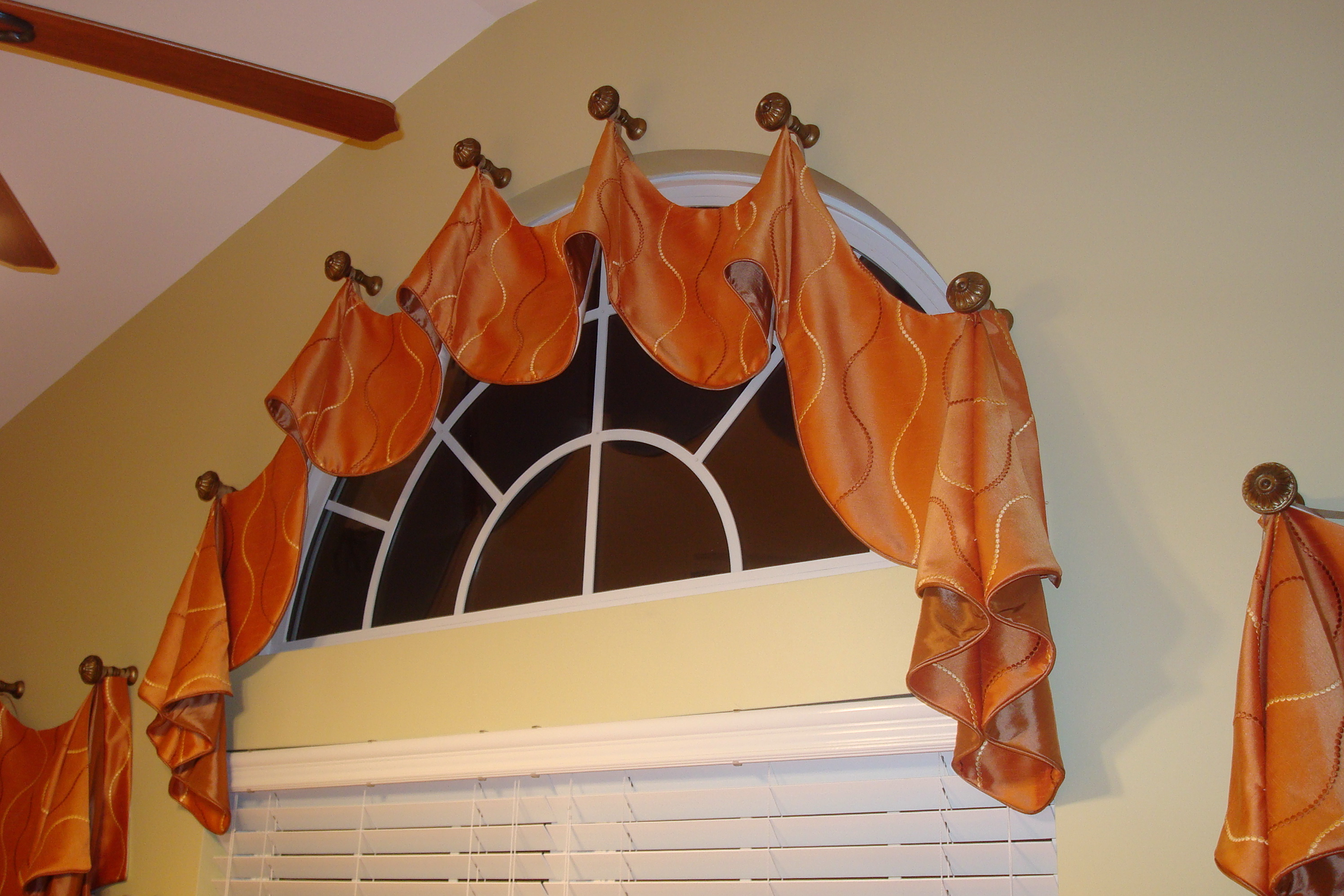 Flexible Curtain Rod For Eyebrow Window Home Design Ideas