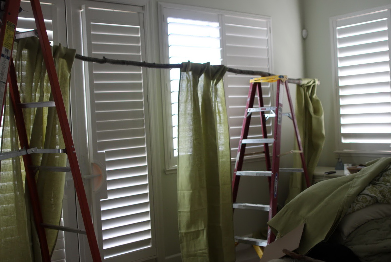Curtain rods at home depot
