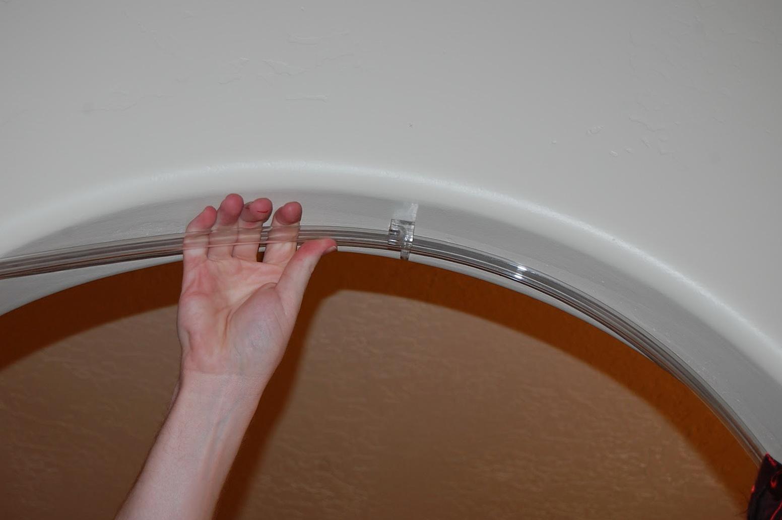 Excellent Bendy Shower Curtain Rail Ideas - Bathtub for Bathroom ...