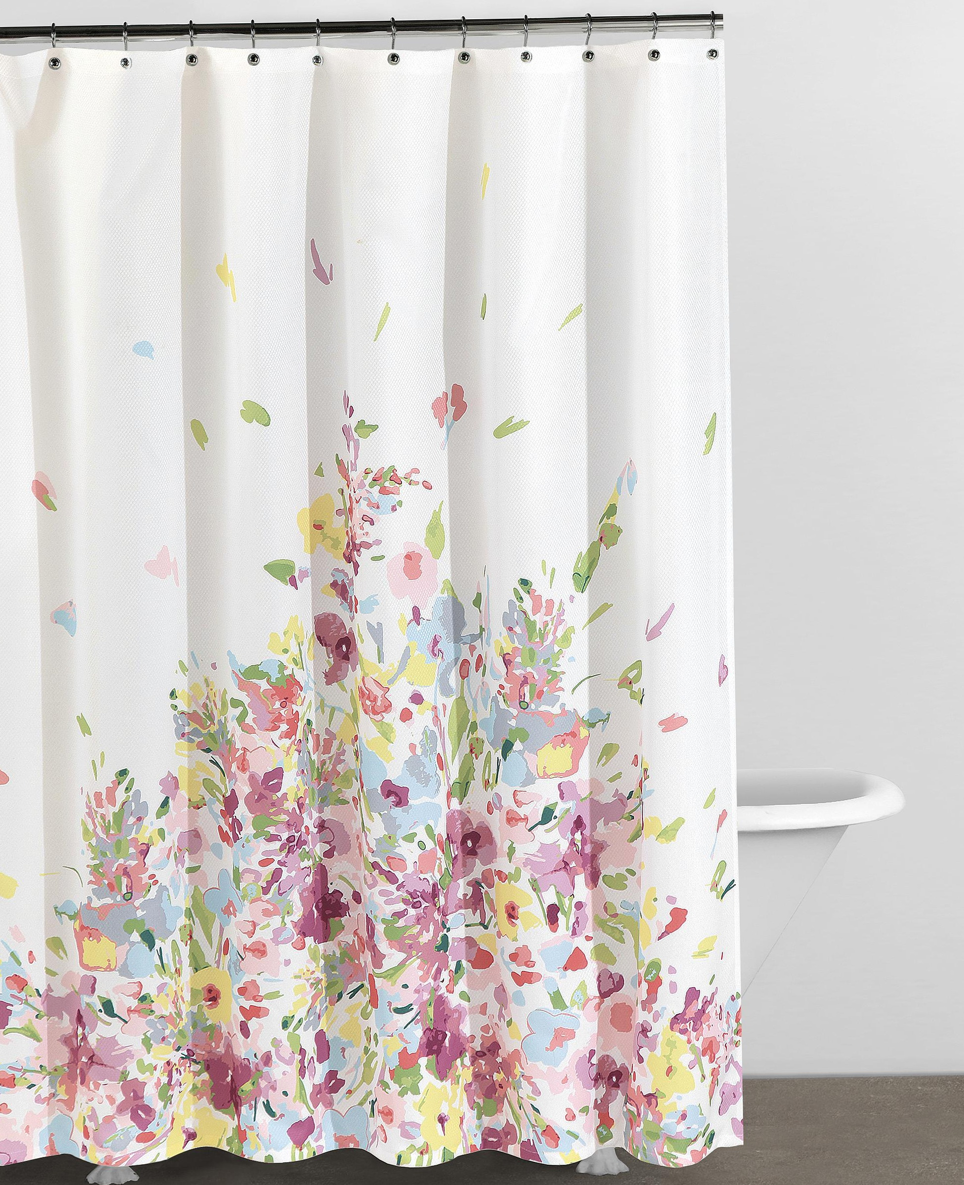 Floral Shower Curtains Bed Bath And Beyond | Home Design Ideas