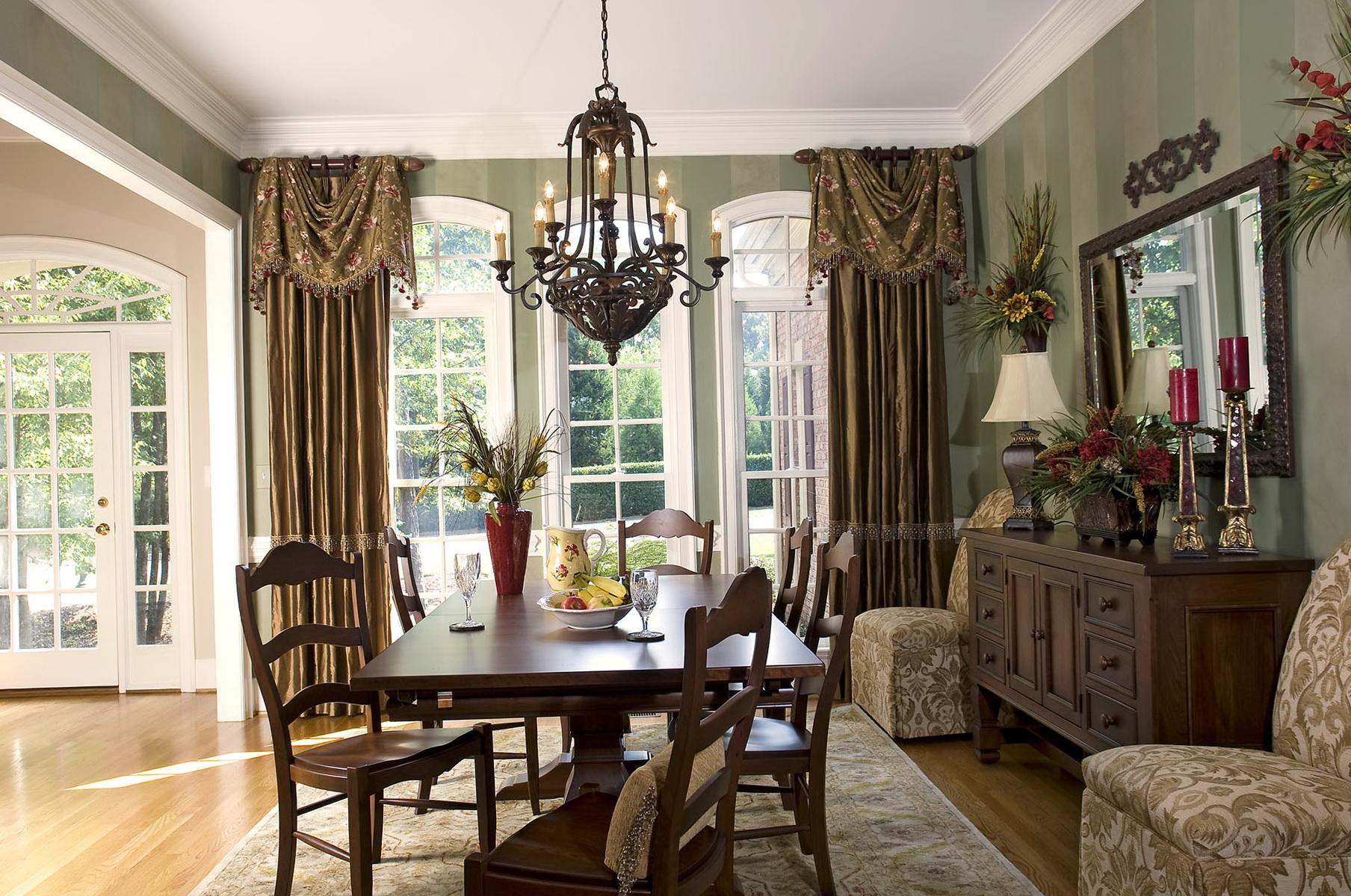 Formal Dining Room Curtain Ideas Home Design Ideas