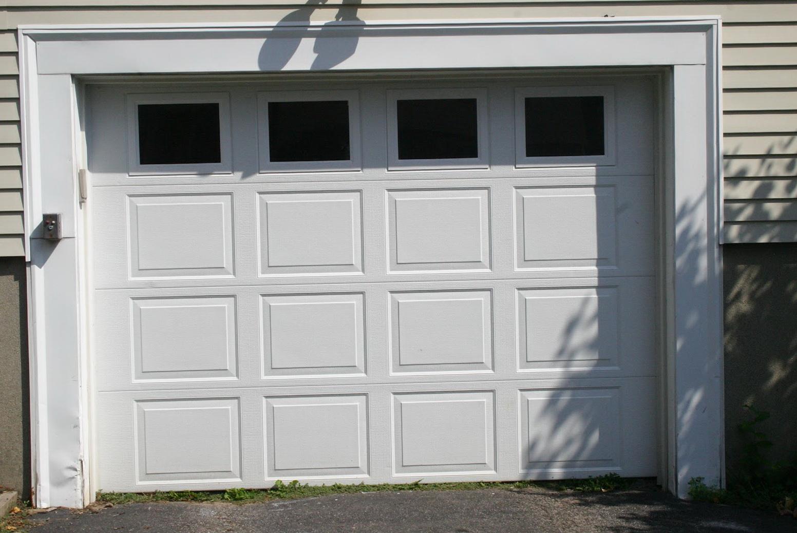 Garage Door Window Panel Curtains Home Design Ideas
